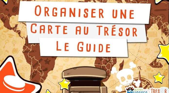 Organiser une carte au trésor pour enfant