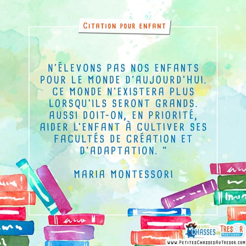 Citation pour les parent sur l'éducation des enfants