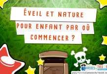 Eveil et nature pour enfant