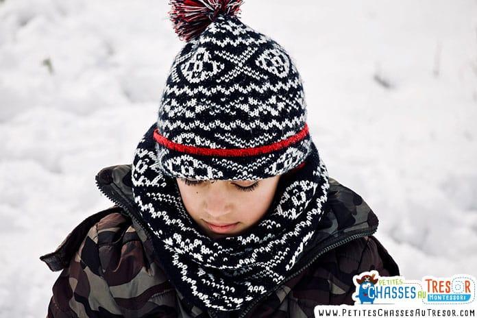 avoir chaud en hivers avec les bon vêtements