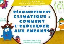 expliquer le réchauffement climatique aux enfants