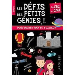 Livre les petits génies CE1 8 ans