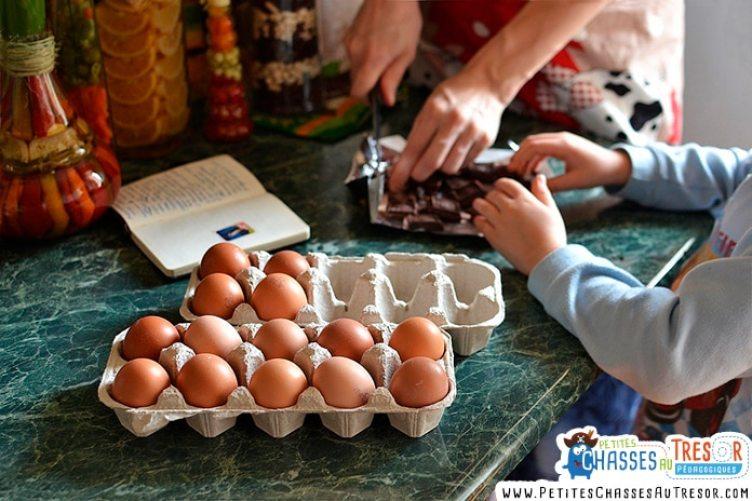 Les avantages de cuisiner avec les enfants