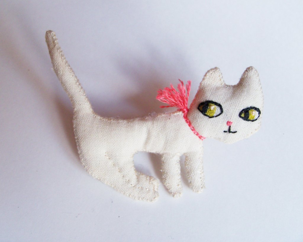 broche chat milicancrelat
