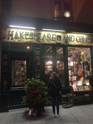 A popular bookstore across the river from Notre Dame.