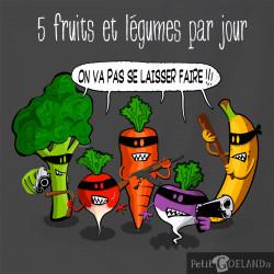 """5 Fruits Et Légumes Par Jour Humour : fruits, légumes, humour, """"5, Fruits, Légumes, Jour"""""""