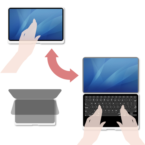 double touch screen