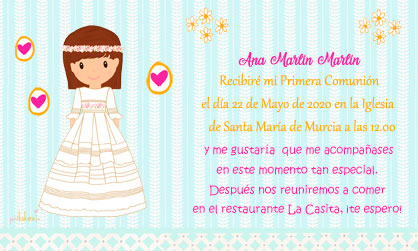 Invitación-comunión-niña-modelo-Ana