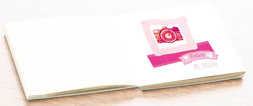 hoja álbum comunión fotos niña petitkokoro 12