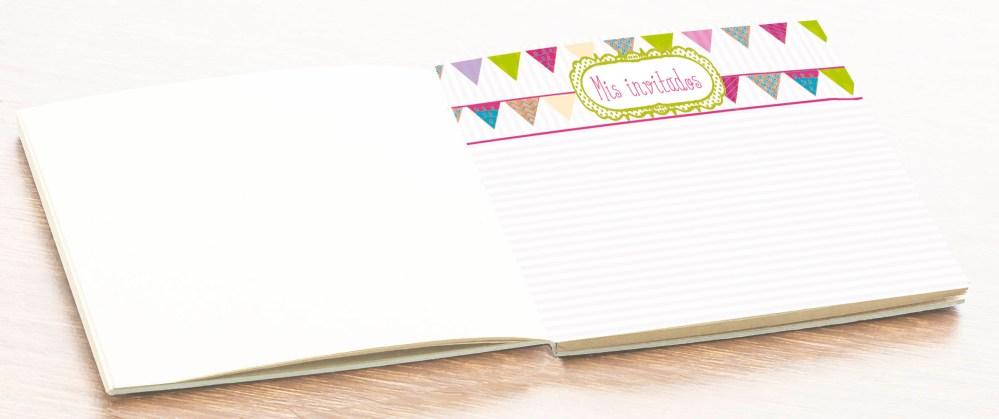 hoja álbum libro firmas personalizado comunión niña petitkokoro 5
