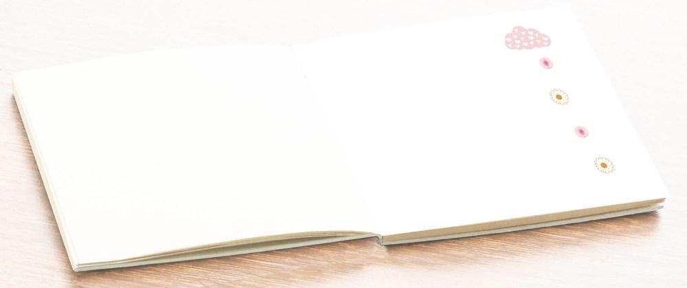 hoja álbum comunión libro firmas personalizado niña petitkokoro 9