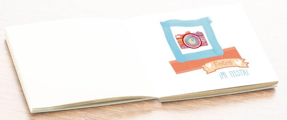 hoja álbum libro firmas comunión niño petitkokoro 12