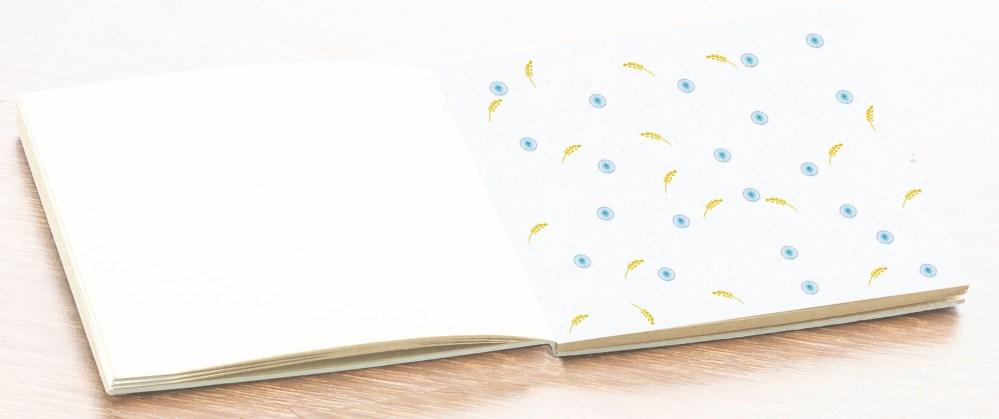 hoja álbum libro firmas comunión niño petitkokoro 13