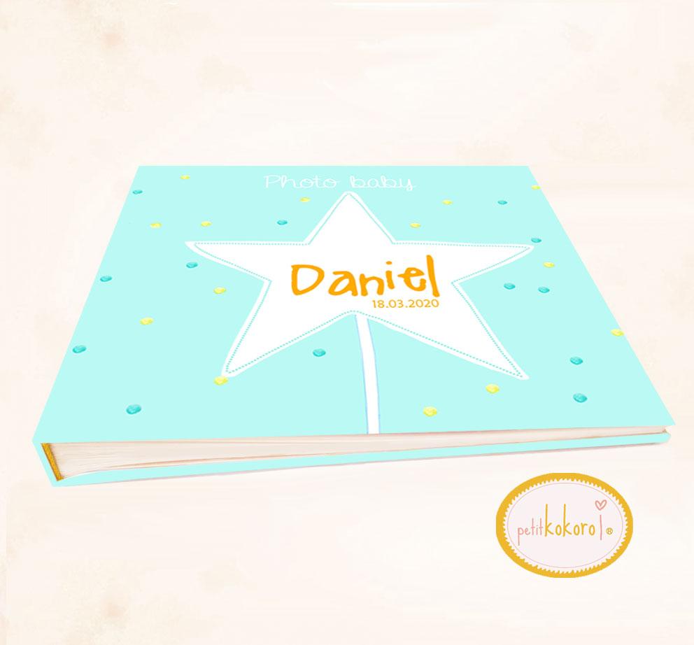 Libro de bebé modelo estrella