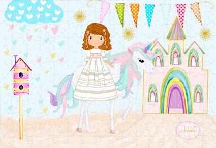 puzzle-comunión-niña-modelo-unicornio