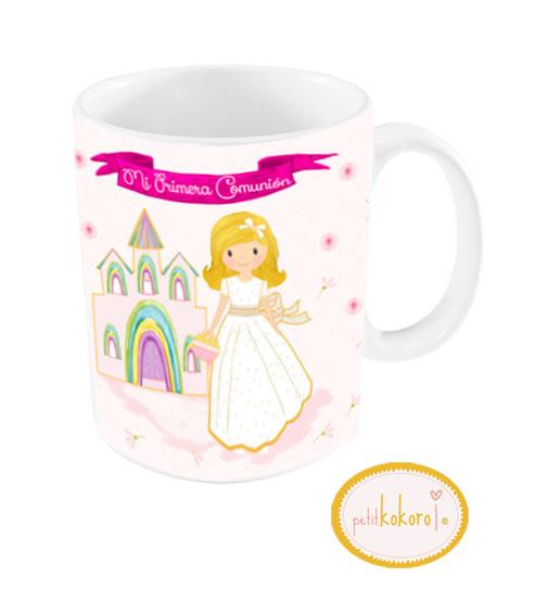 taza de comunión modelo niña iglesia