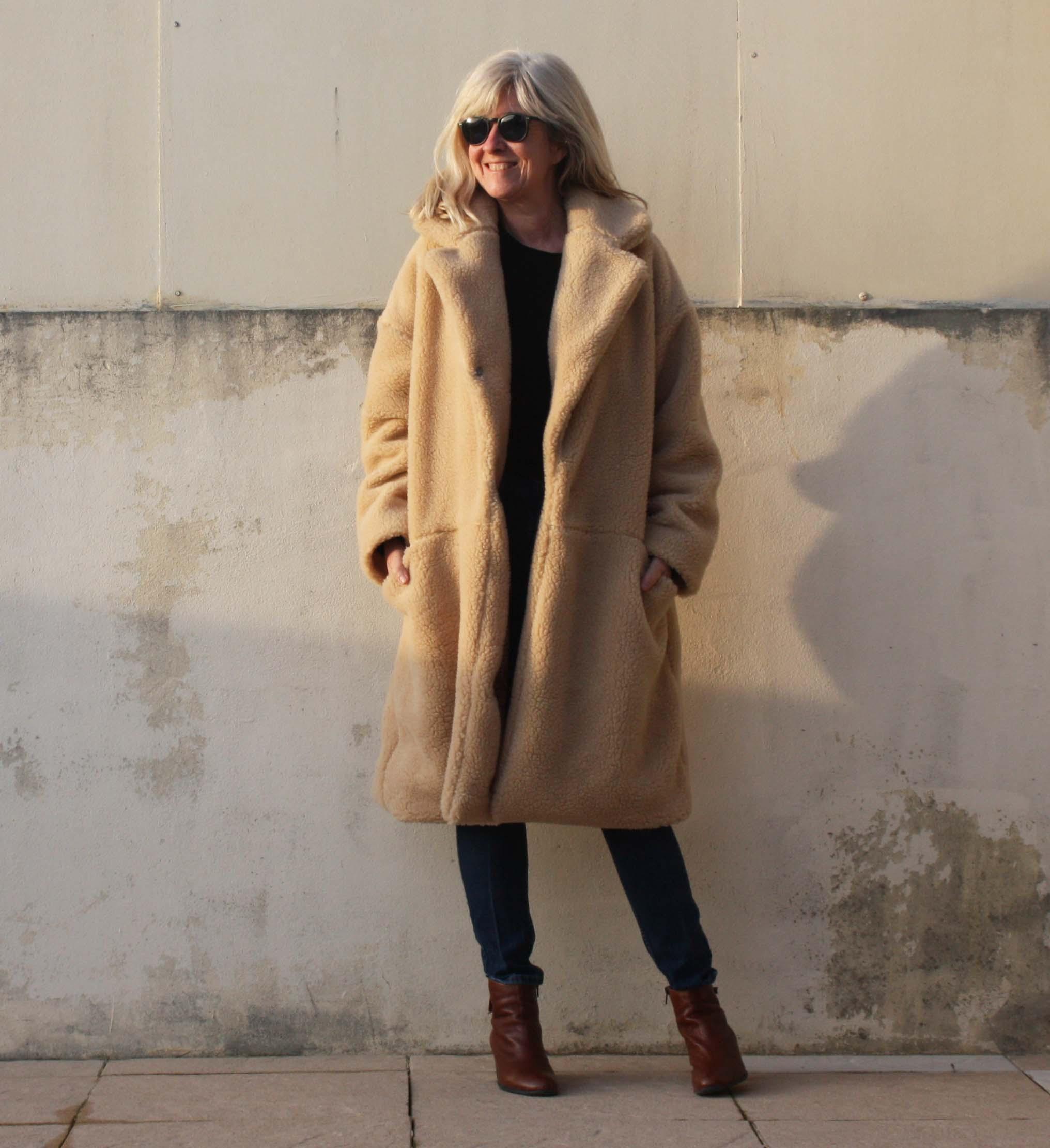 manteau roma fibremood et tissu