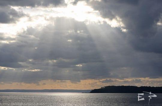 Lever de soleil sur Harvey Bay