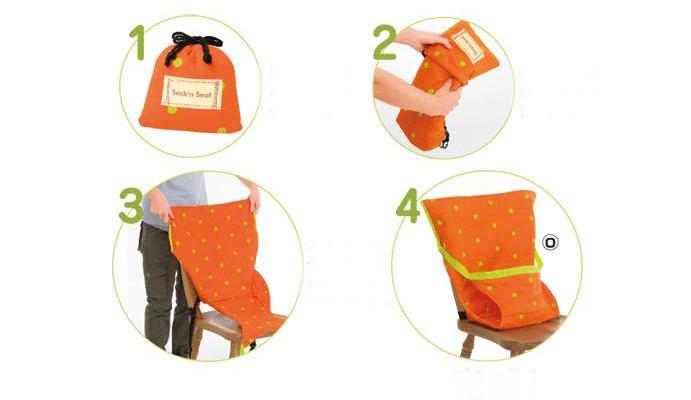 Petits Globetrotteurs - Sack n Seat
