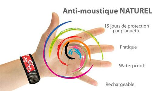 bracelet anti-moustique Para'Kito