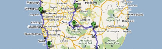 Circuit de 10 jours au Sri Lanka avec enfant