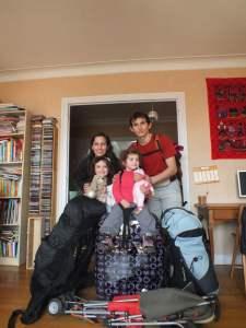 Argentine avec enfants