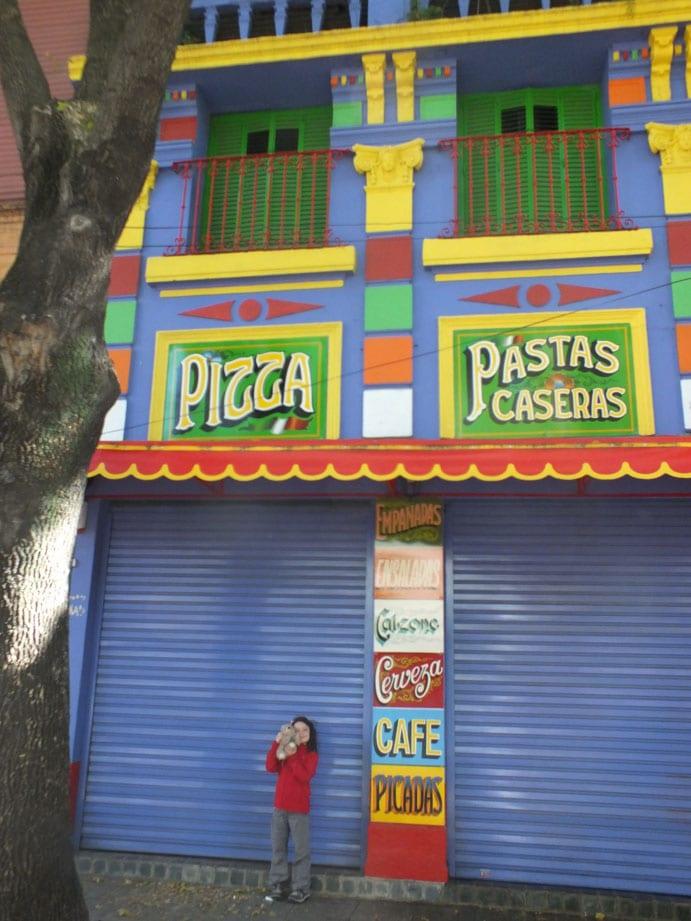 Le quartier touristique de la Boca
