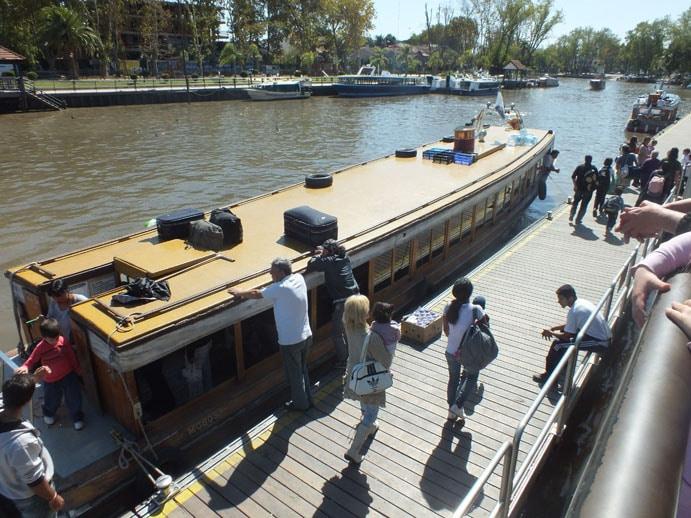 Balade en bateau près de Buenos Aires
