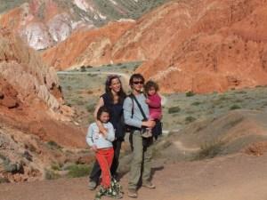Road trip en Argentine avec enfants