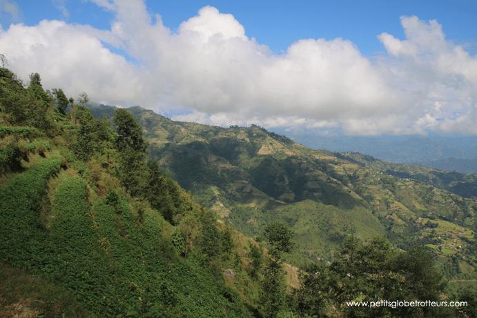 Randonnée Dhulikhel Nagarkot Nepal