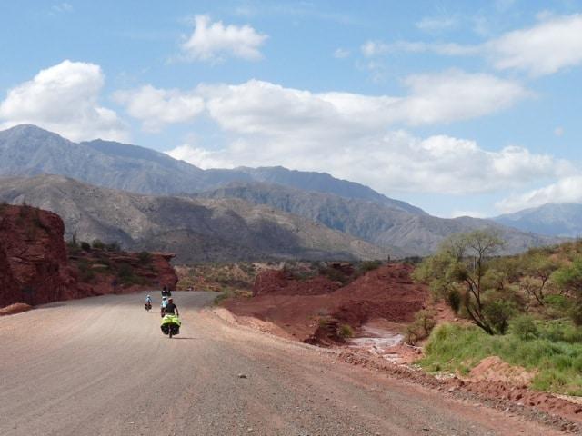 Dans les Quebradas en Argentine