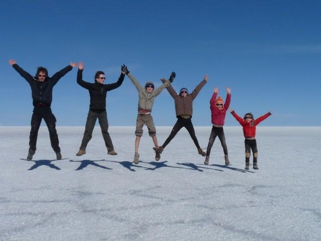 Salar Uyuni en Bolivie