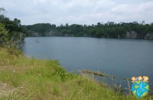 Carrière de granit de Pulau Ubin