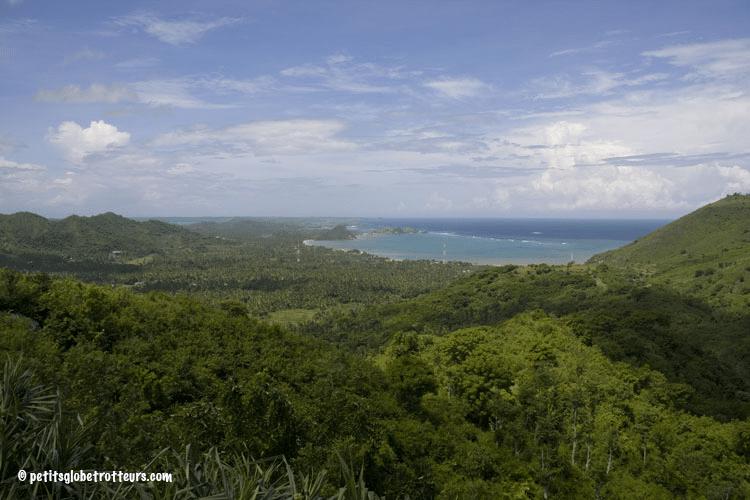 Vue depuis le Ashtari, Lombok