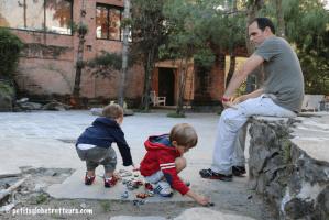 Népal avec les enfants - Nagarkot