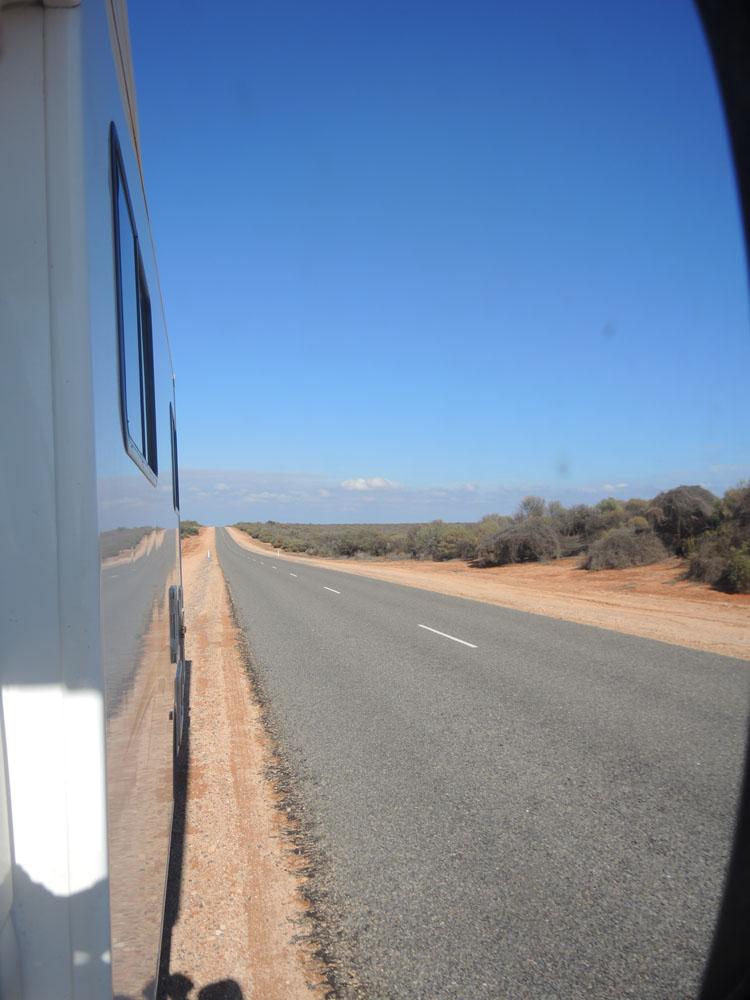 Australie avec enfants route
