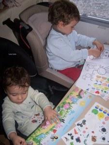 camping-car avec des enfants