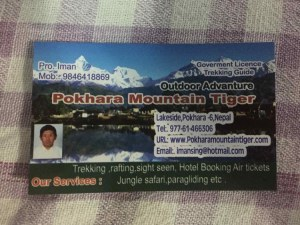 guide trek pokhara