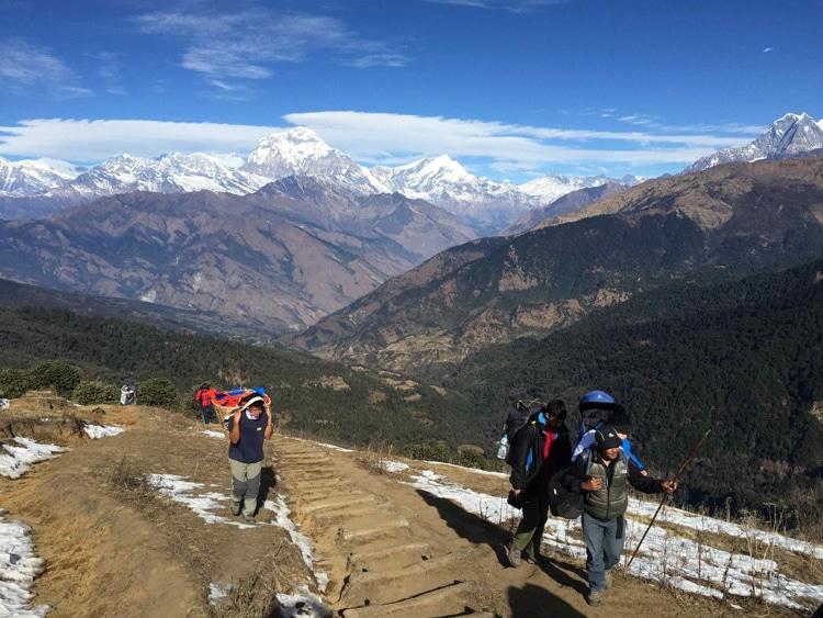 Nepal en famille trek