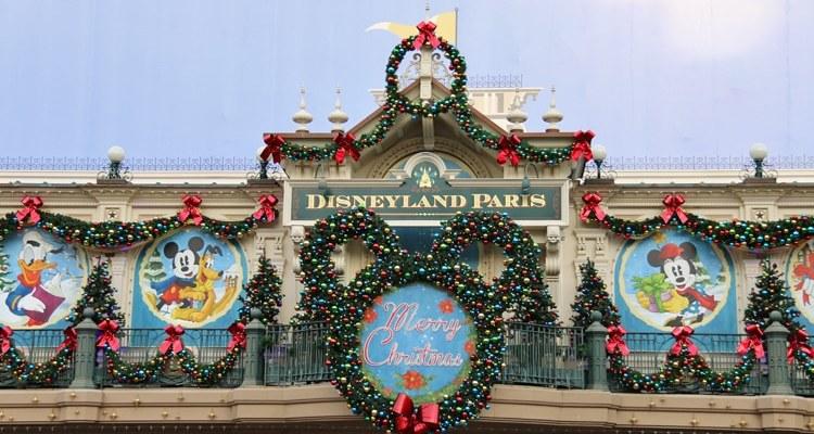 Disneyland Paris en famille à Noël