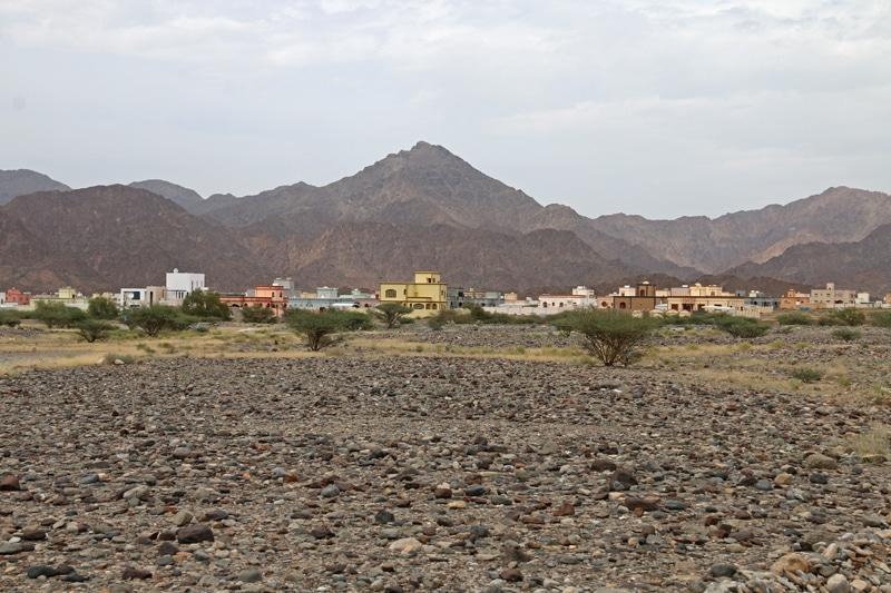 Sur la route de Rustaq