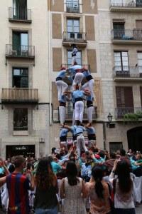 Castellers à Barcelone Petits Globetrotteurs