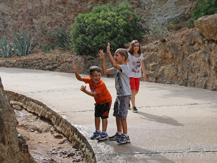 Barcelone en famille - Park Guell