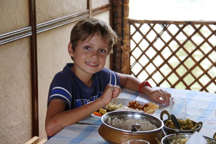 nourriture indienne backwaters inde