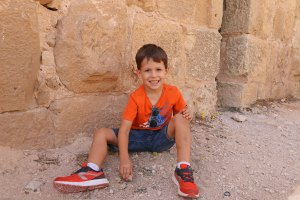 jordanie en famille - forteresse ajloun