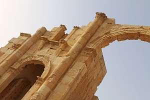 jordanie en famille jerash