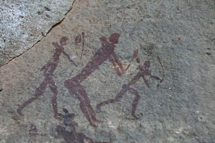 peinture rupestre afrique du sud