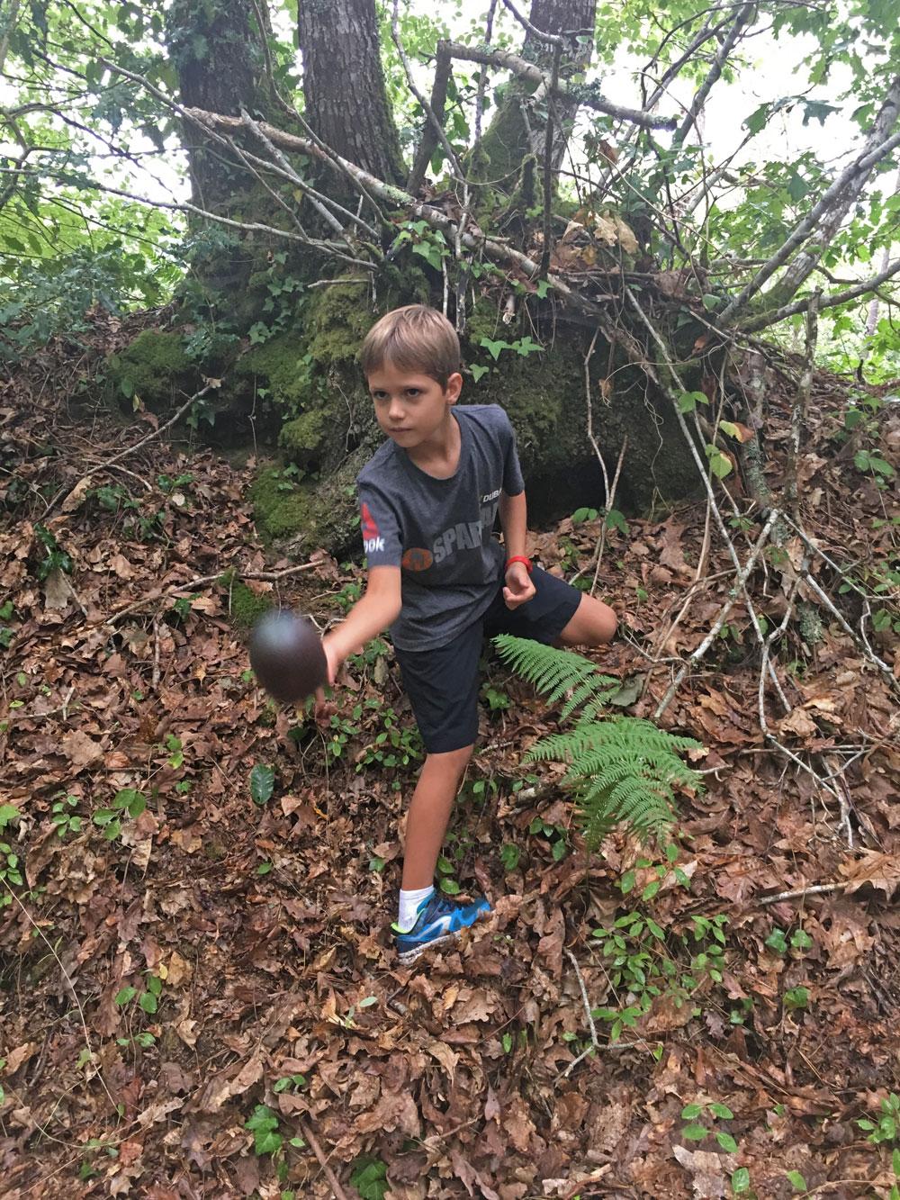 geocaching foret
