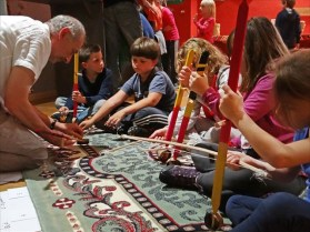 Atelier exposition Les enfants du Nil, photo de Jean-Pierre Dalbéra