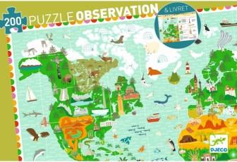 Puzzle sur les pays du monde